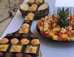 Dessert et salade de fruits de Marius Traiteur
